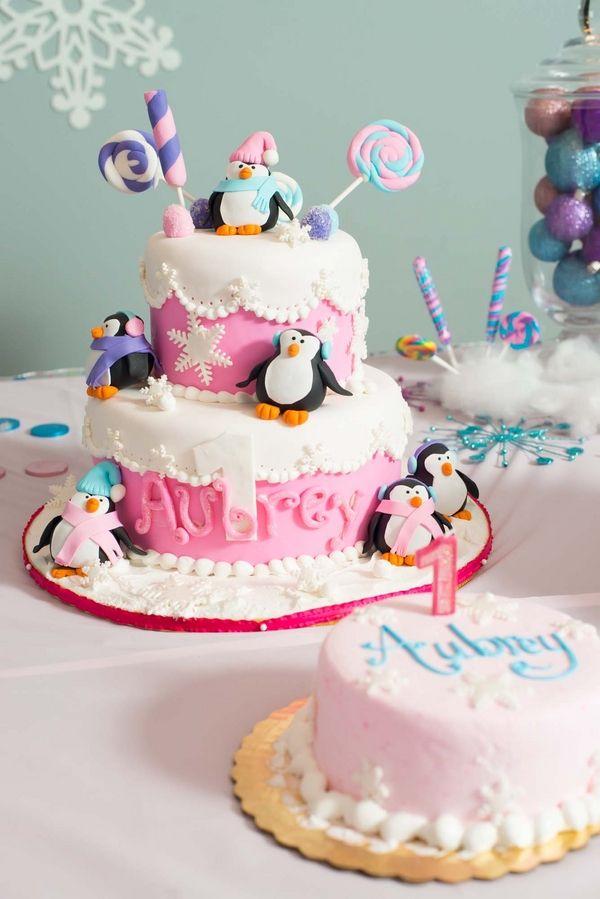 Whimsical Winter Wonderland Birthday Party |