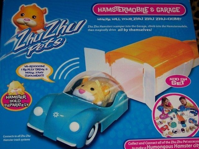 Zhu Zhu Pets Hamster Mobile & Garage Set Hamster Car Add On NEW Tunnel Section