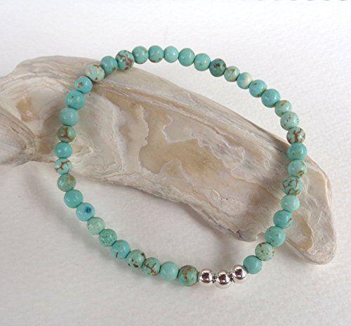 Turquoise Howlite Gemstone,925 Sterling Silver Strech Bra... https://www.amazon.com/dp/B079NBF9G3/ref=cm_sw_r_pi_dp_x_loVEAbMMSWDM1