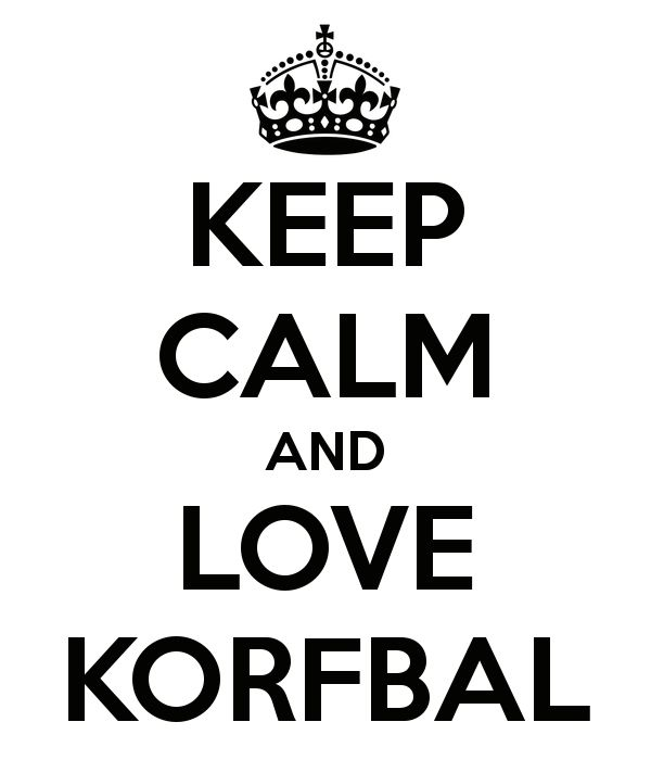 KEEP CALM AND LOVE KORFBAL