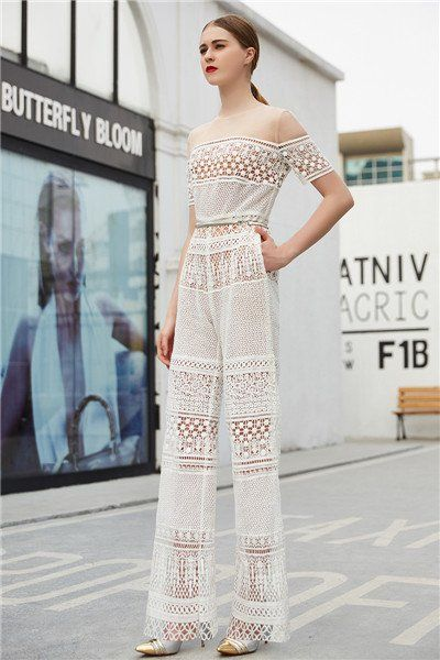 Inmansa high class fashion lace evening dress suits