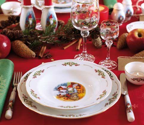 Gammeldags jul servis
