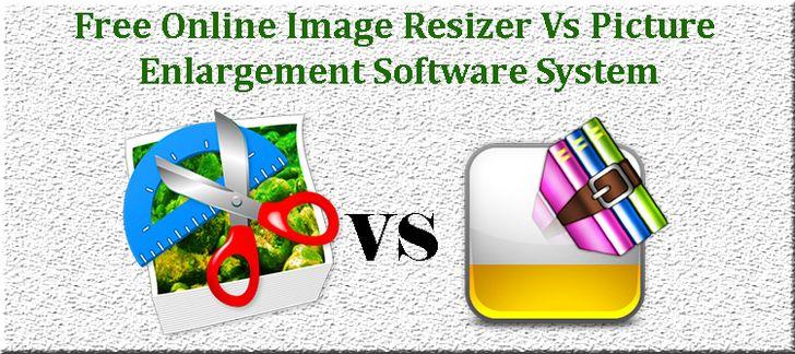 Free Online Image Resizer Vs Picture Enlargement Software System