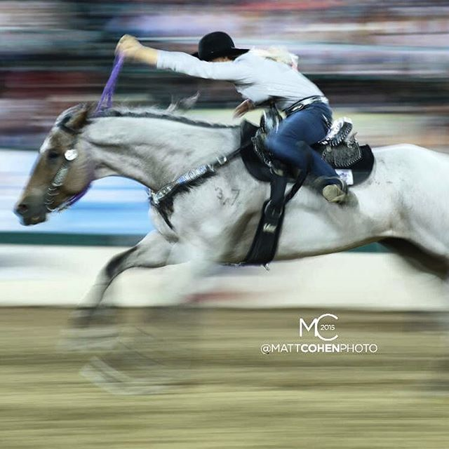 Sarah Rose McDonald @ Reno Rodeo. Photo credit to the best rodeo photographer out there; @mattcohenphoto