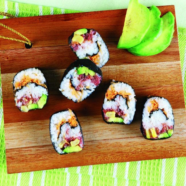 Sushi Avokad Untuk Penggemar Sushi Rasa Gurih Creamy Avokad Membangkitkan Selera Memasak Alpukat Resep Sushi