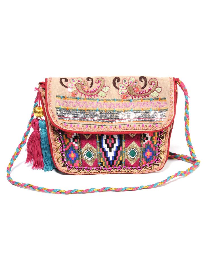 Z & L Sequin Embroidered Bag! www.southmoonunhder.com
