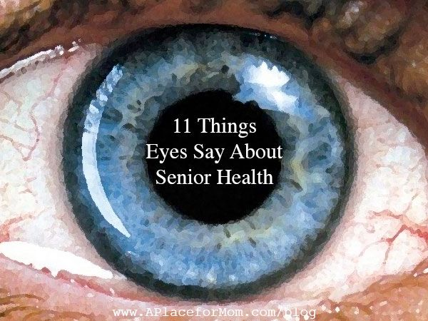 11 Things Eyes Say About Senior Health