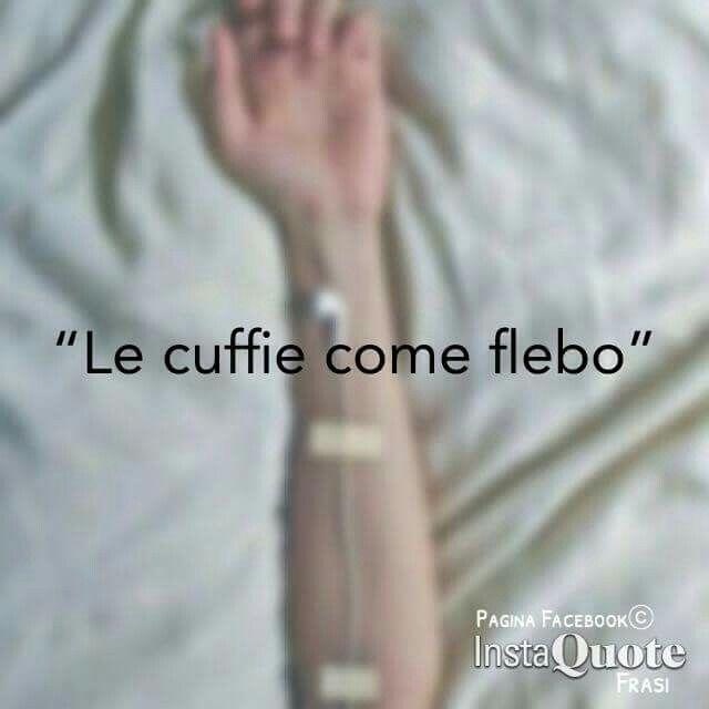 • Le cuffie come flebo. #music
