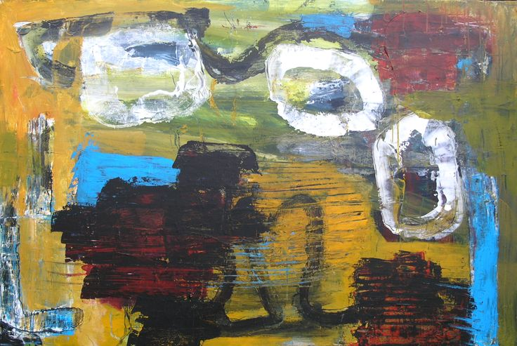 Acryl på lærred, 150 x 100 cm (privateje)
