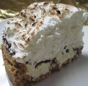 mores Semifreddo Pie | Recipes | Pinterest