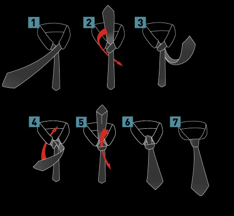21 best to tie or knot to tie images on pinterest necktie knots every woman should know how to tie a tie ccuart Image collections