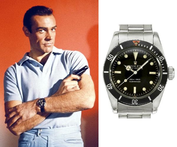 Dr. No (1962) – Rolex Submariner 1953 No Date - Sean Connery