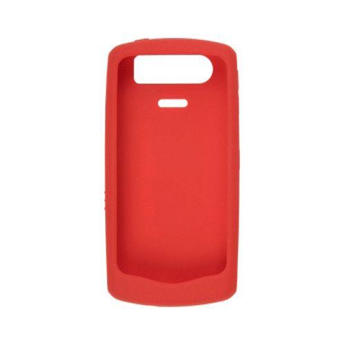 OEM Blackberry 8110 8120 8130 Silicon Skin Case (Red)