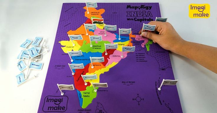 7 best mapology fun educational map puzzles images on pinterest flag and learn grab a set of mapology india with capitals solve the puzzle gumiabroncs Choice Image