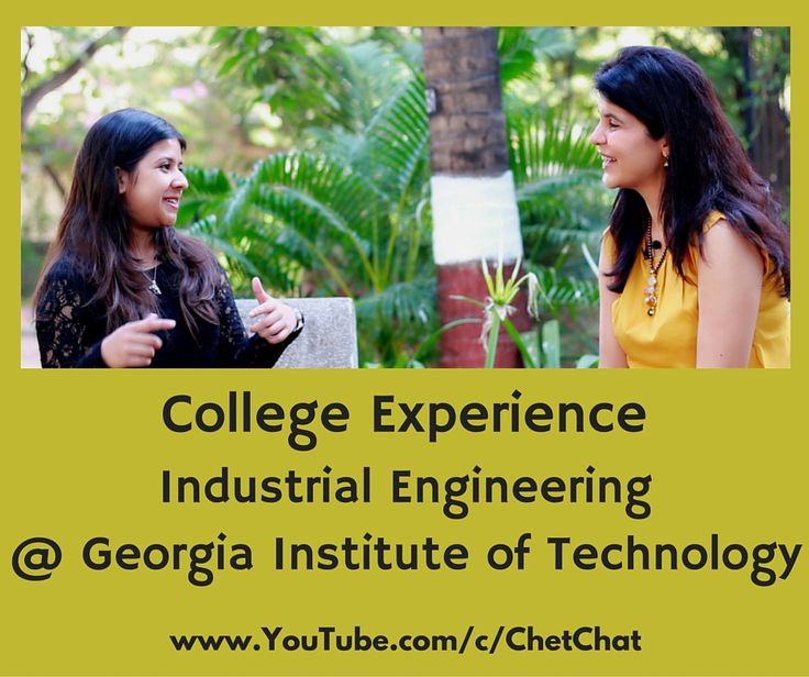 Sophomore at Georgia Institute of Technology talks of what makes Georgia Tech unique, Industrial Engineering with a minor in Psychology, research, Greek Life, class sizes, professor interaction, food options around Atlanta, advice to freshmen, fun facts about GaTech and much more. Chet Chat, youtube video, youtube videochat college experience,