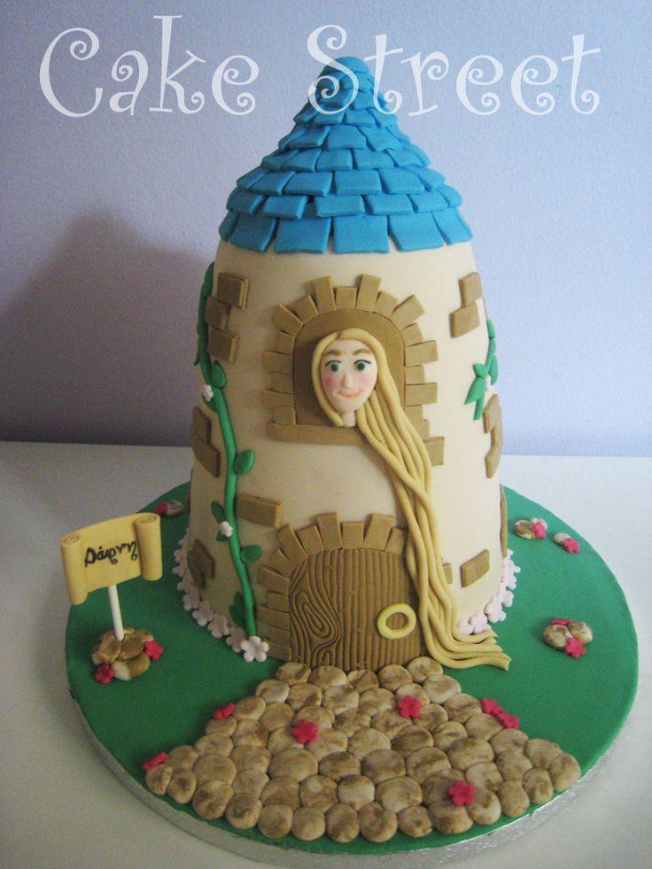 Rapunzel Cake!