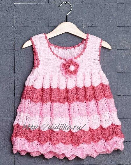Нарядное Платье в Розовых Тонах   Дидилка
