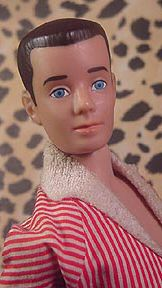 Ken had painted hair ha ha I really Loved Allen More