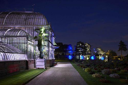 vfcrp | « Peindre la nuit » au Jardin des Plantes de Nantes