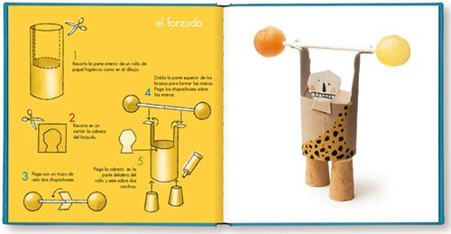a book of simple yet totally cool do-it-yourself circus characters by Isidro Ferrer