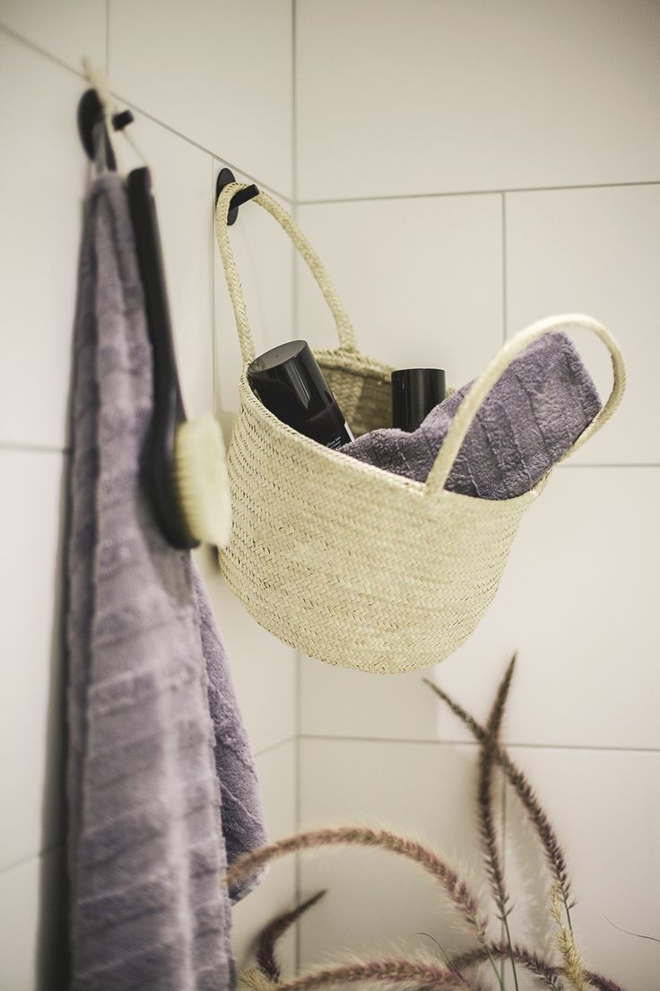 Basket/Bag Sylvia. Bathroom Badrum Eco Fair Trade Design Ekologiskt Hållbart Rättvis handel Kruka Korg Västerås Uganda Women Interior Interiordesign Craft Krafts Hantverk Enpower Womenscraft Photo: FotografMathilda.se