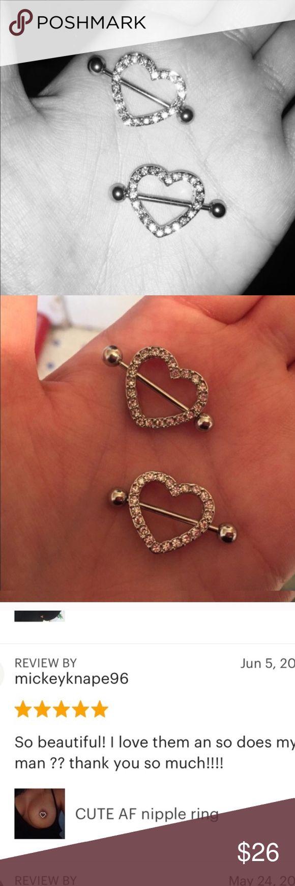 CUTE AF nipple rings Brand new 2 pcs nipple rings  Accessories