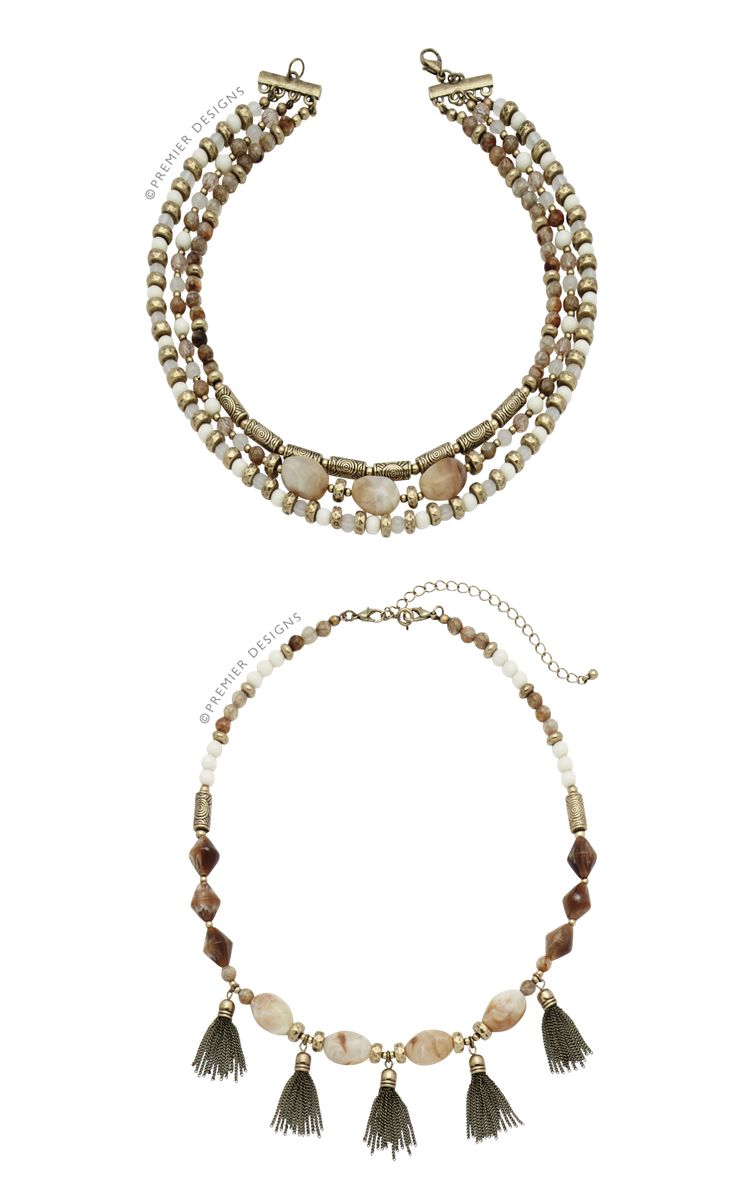 Premier designs jewelry 2015 - Premier Designs New Neutrals Necklace