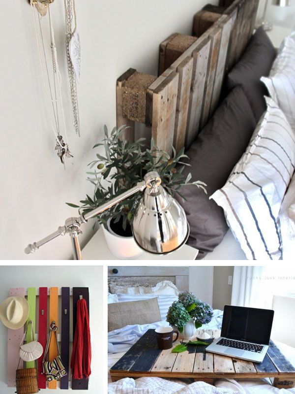 DIY Decor Projects With Pallets