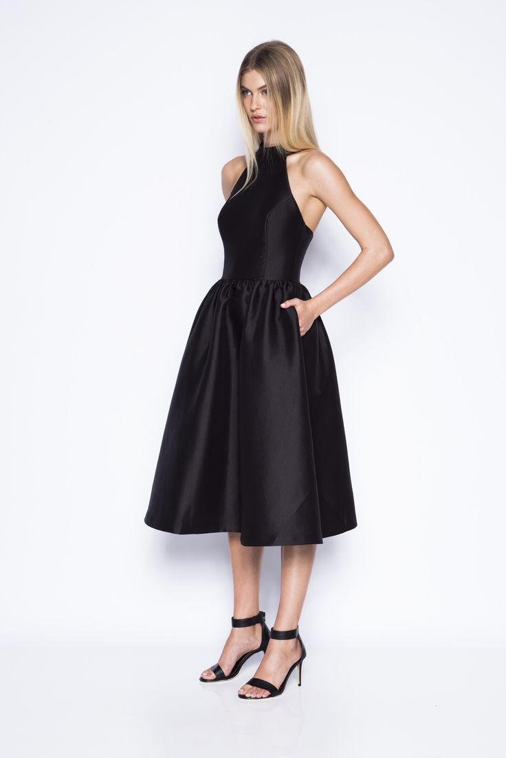 Pink Stitch - Ps The Label Last Word Dress - Black