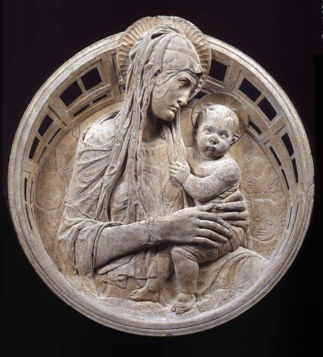 RT @AHistoryOfArt: Donatello (Donato di Niccolò di Betto Bardi 1386-1466) Madonna Del forgiveness 1458 marble chapel of the Madonna https://t.co/VFYG75J5Sa