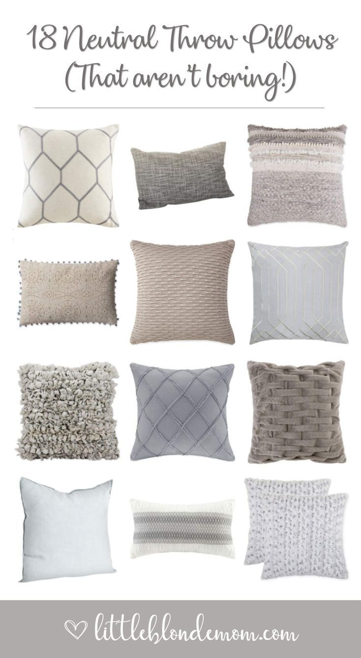 Ultimate List of Throw Pillows - 72 throw pillows to spruce up your couch! Text ...