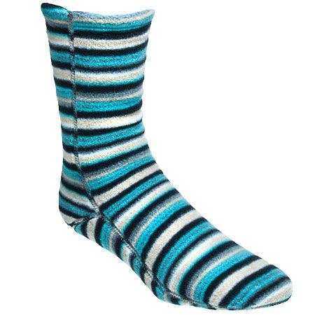 Acorn Slippers 21208 FSN Multi Color VersaFit Polyester Fleece Socks