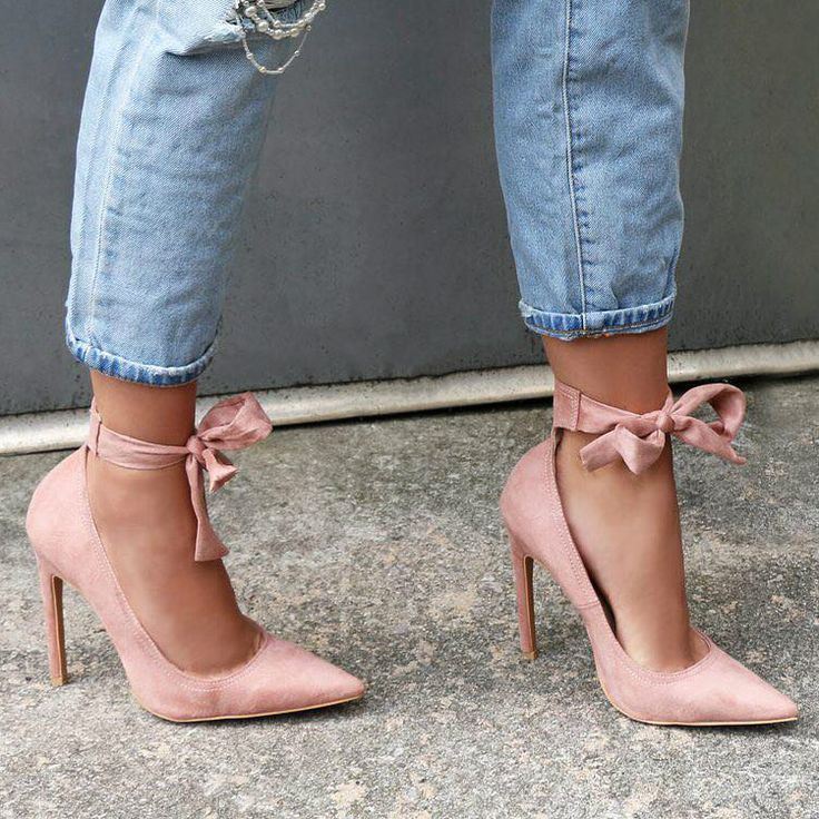 Lace up Pointed Toe Ankle Heels http://www.myshoebazar.com/product/lace-up-pointed-toe-ankle-heels/