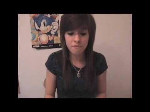 "▶ Me Singing ""Fireflies"" by Owl City - Christina Grimmie - YouTube"