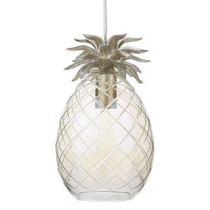 Pineapple Glass Pendant Light
