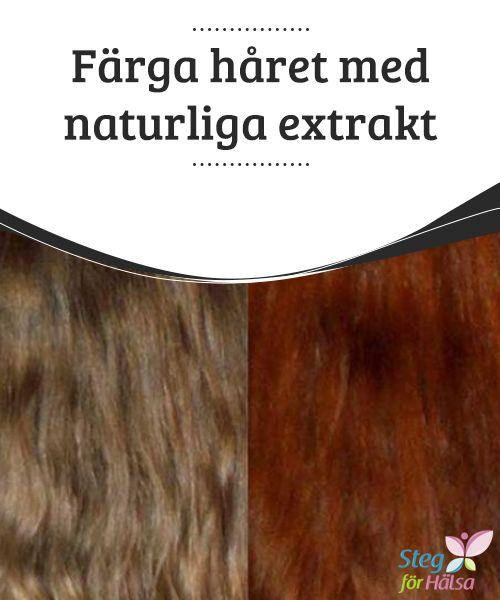 Färga håret med naturliga #extrakt  Att färga håret tillåter dig att ändra ditt #utseende och ge dig ett modernare utseende, #samtidigt som du döljer gråa hår. Att färga sitt hår kräver dock vanligtvis en tur till frisören, eftersom att göra det själv #tenderar att kräva att man #använder produkter som ofta är aggressiva och skadliga för din kapillära struktur.