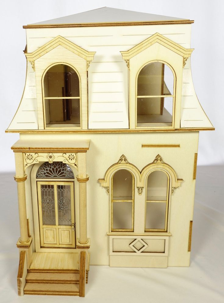 124 scale miniature dollhouse kit hill view for