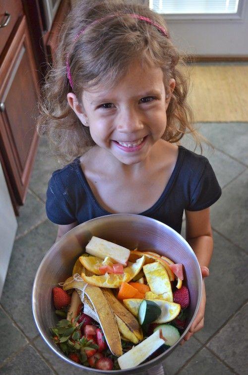 Children For Daz Studio And Poser: {Kids} How To Compost Kitchen Scraps