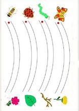 Aktivitäten Einfache Linien für das Lernen 4