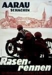 Rasenrennen für Motorräder Aarau 1935