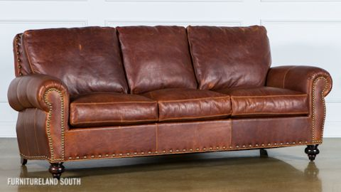 Classic Leather  Leather Sofa, Chair, and Ottoman