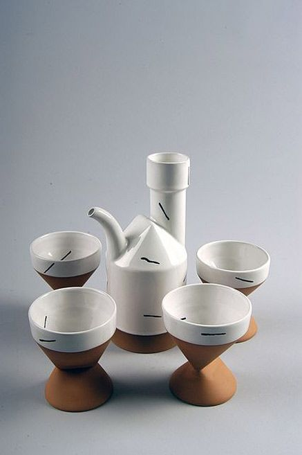 Contemporary tea set – Paul Eshelman, Elizabeth, Illinois