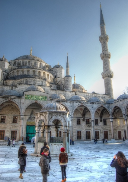 Blue Mosque in Istanbul - By Turkish Travel, via Flickr.