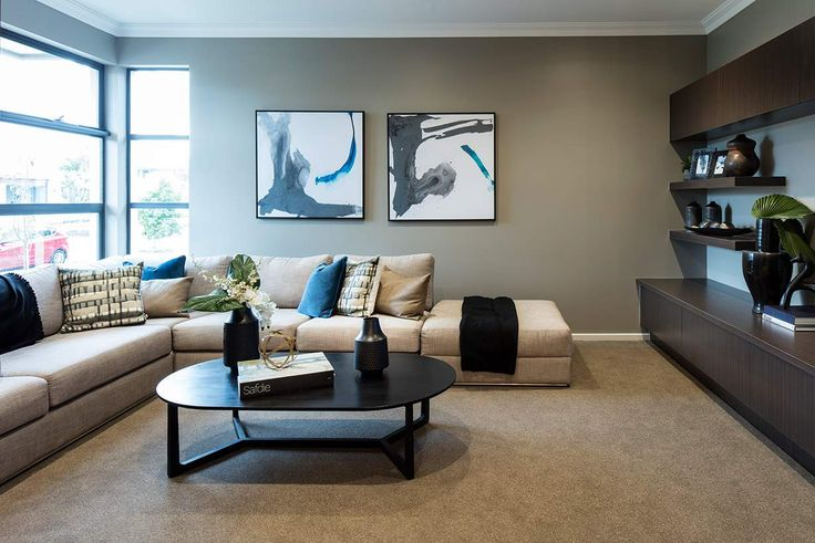Unwind and relax in this cosy and homely space. #weeksbuildinggroup #homedesign #interiordesign #newhome