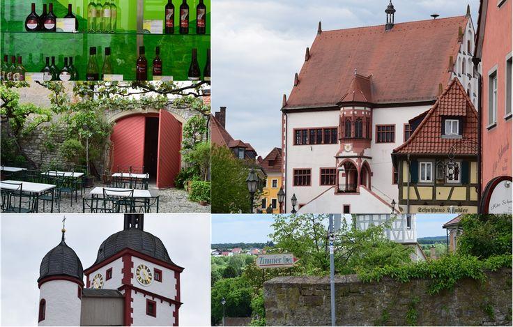 Hübscher Winzerort in Franken: Dettelbach  ... #twowomo #wein #winzer #franken #weinland