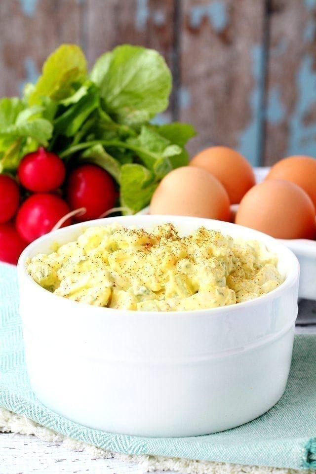 Skinny Egg Salad – My Fitness Pal