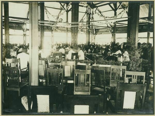Eerste vergadering van de regentschapsraad van Tasikmalaja. 1926-1929