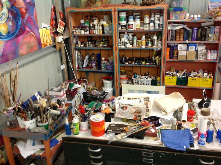 Judy Pomroy. Studio
