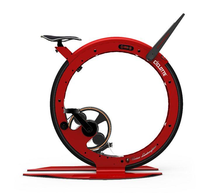 2014 Ciclotte Tonino Lamborghini red steel
