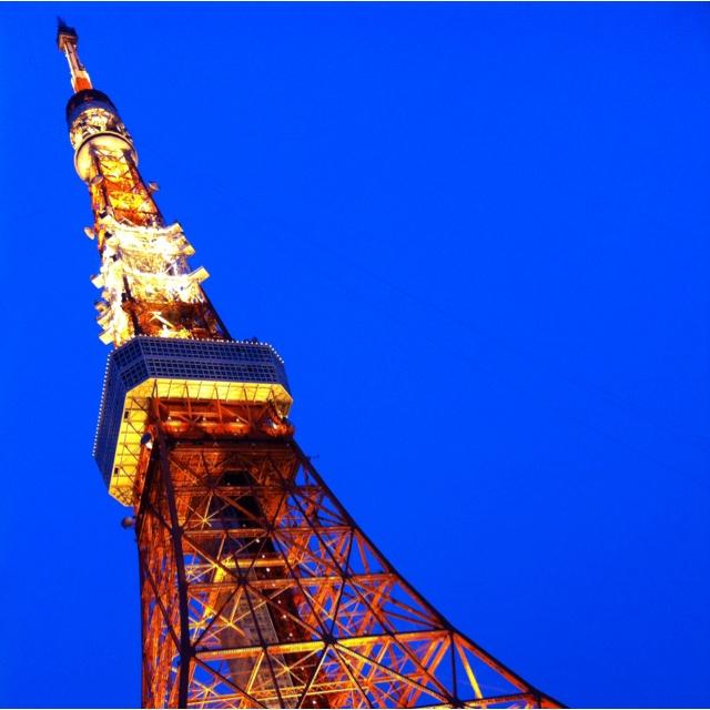 スカイツリーもいいけど、やっぱ東京タワーキレイだわー
